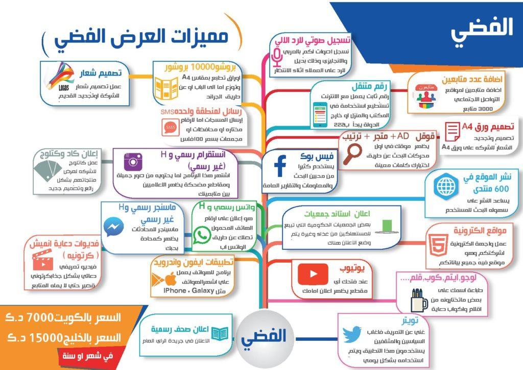 الباقة الفضية - التسويق الالكتروني في الكويت ودول الخليج